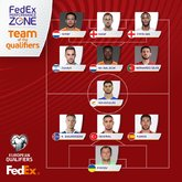 欧预赛最佳阵容:扎哈维入选,凯恩、斯特林、拉莫斯在列