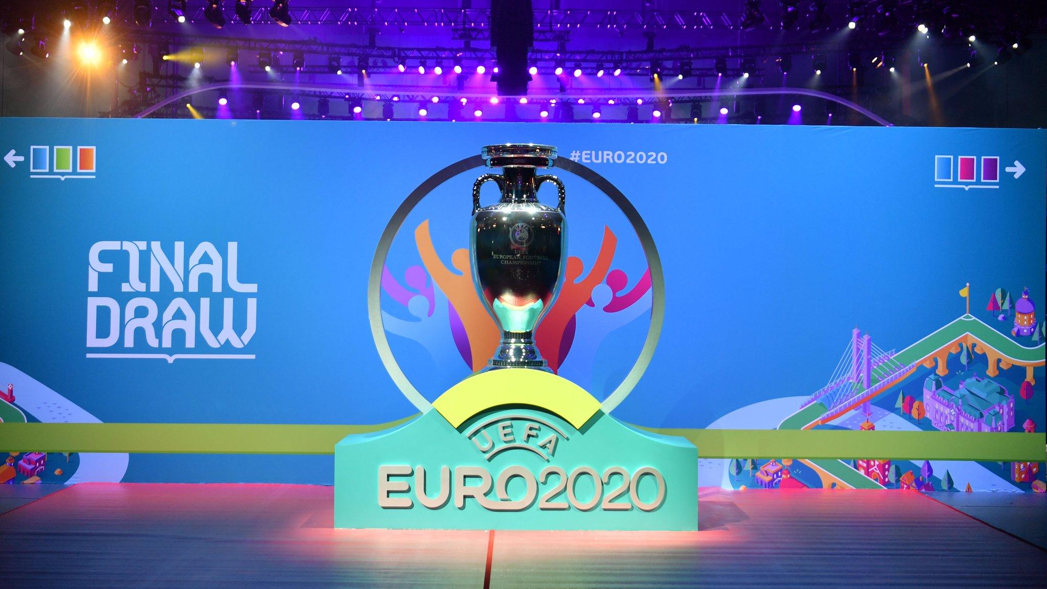 尝个鲜!欧洲杯抽签仪式现场,准备工作已经就绪