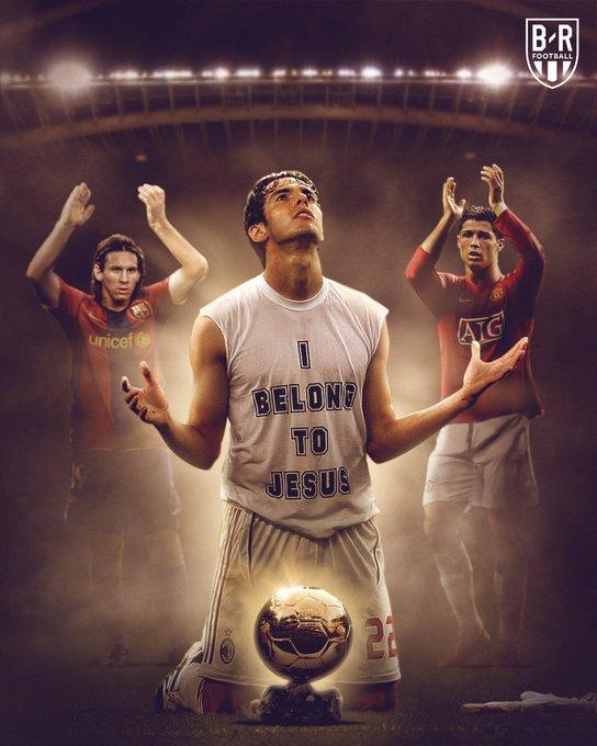 B/R海报:12年前的今天,卡卡击败梅罗捧得金球奖