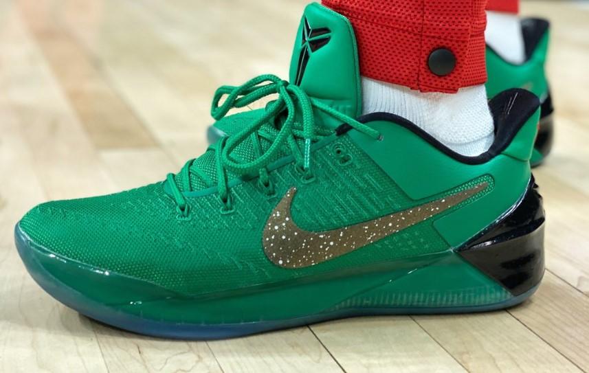 今日球鞋:小托马斯上脚Nike ZK 12,路威上脚匹克 态极