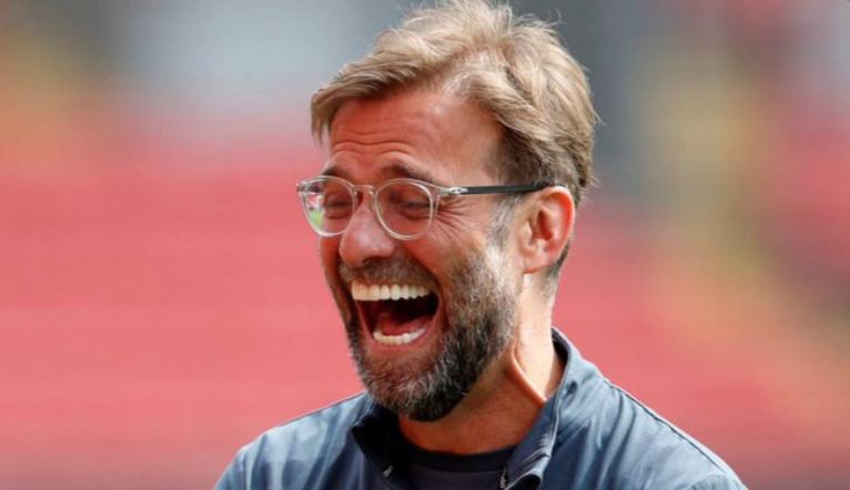自克洛普上任后,利物浦英超5球大胜11次,曼联1次