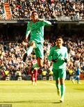 GIF:瓦拉内破门,皇马1-0领先西班牙人