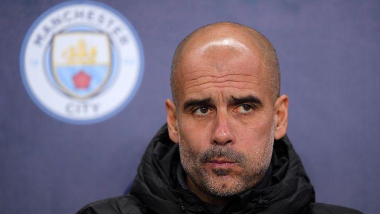 瓜帅:曼城目前无法与利物浦、皇萨这样的顶级球队竞争