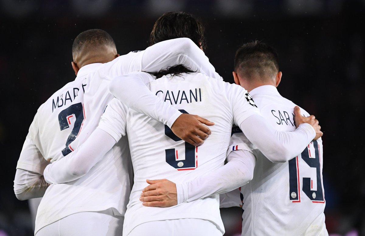 独乐乐不如众乐乐!巴黎昨晚欧冠5人进球排队史第二
