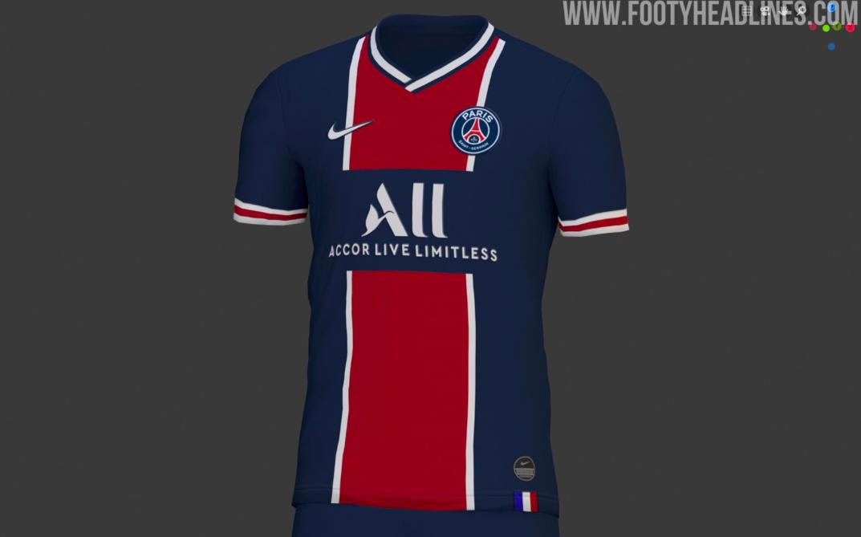 巴黎下赛季球衣谍照流出,复刻经典设计庆祝成立50周年