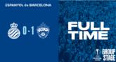 可惜,西班牙人26场欧战不败纪录终结
