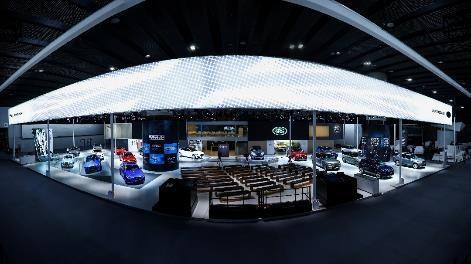 捷豹路虎携耀目新车,登临第十七届广州国际车展