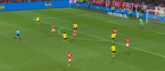 GIF:桑乔灵活摆脱,舒尔茨斩获首球,多特4-0锁定胜局