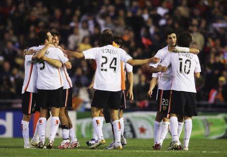 瓦伦西亚过去3次在淘汰赛面对意大利球队,2次晋级