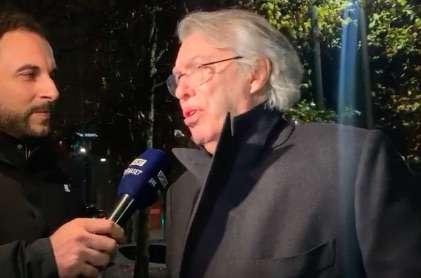 莫拉蒂:国米本赛季的欧冠分组很难,相信球队能赢意甲
