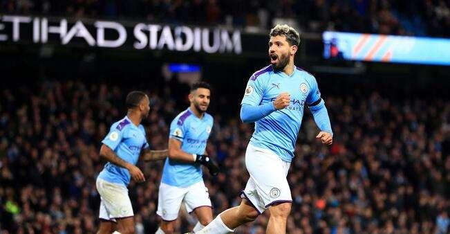 阿圭罗:曼城现在专注赢球,确保获得下赛季欧冠资格