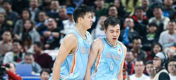 曾令旭和俞长栋相符砍42分,别离取得赛季新高助新疆取胜