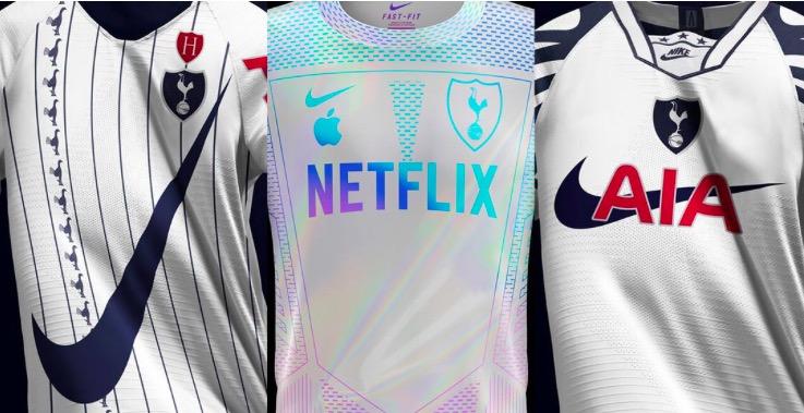 外媒预测热刺未来15年球衣趋势:致敬经典与现代科技结合