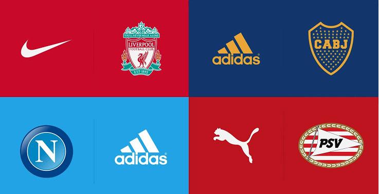 2020年,诸多俱乐部将更换球衣赞助商