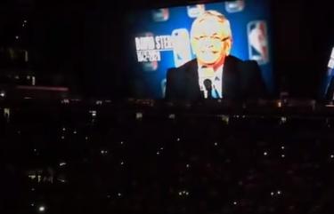 国王主场赛前为前NBA总裁大卫-斯特恩默哀