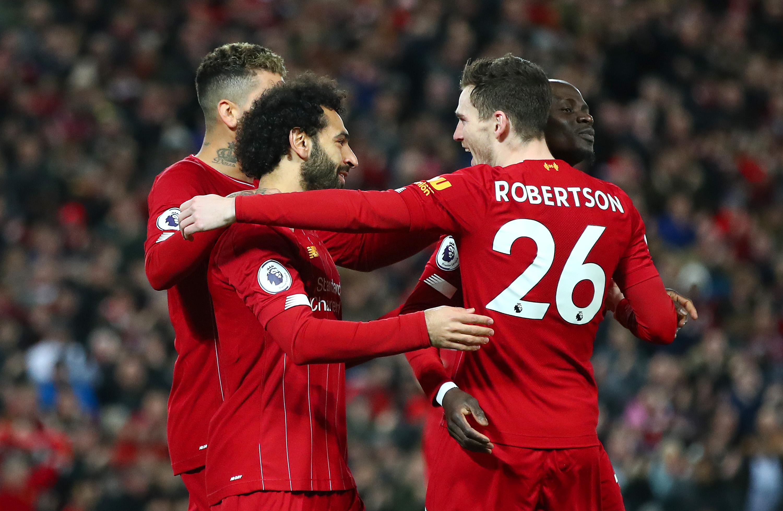 GIF:罗伯逊助攻萨拉赫闪电破门,利物浦取得领先