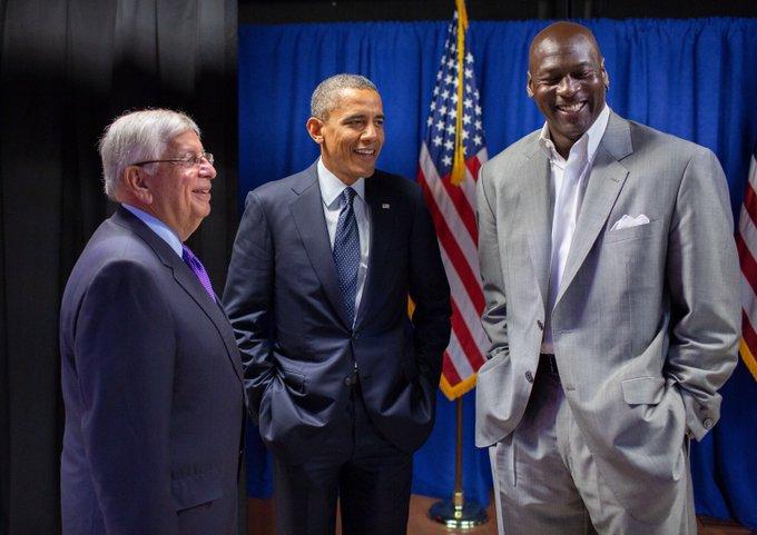 奥巴马悼念斯特恩:回想起他为NBA全球化所做的一切