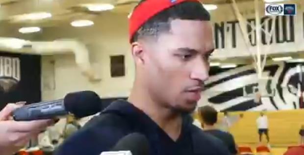 哈特:看到威廉森在训练里扣篮很棒,希望他能快点复出
