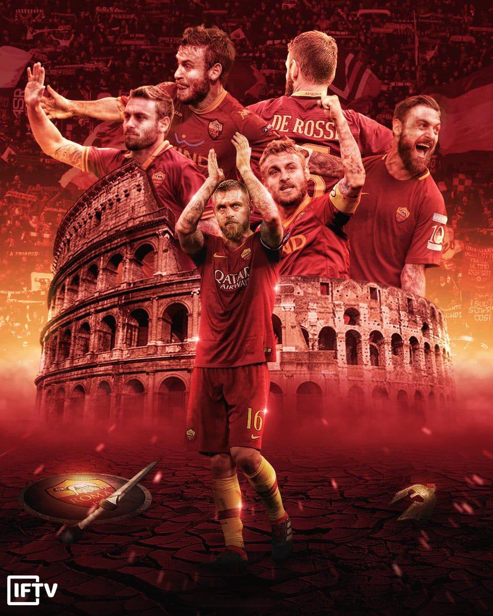 罗马官方送别德罗西:谢谢你为我们带来的美好回忆