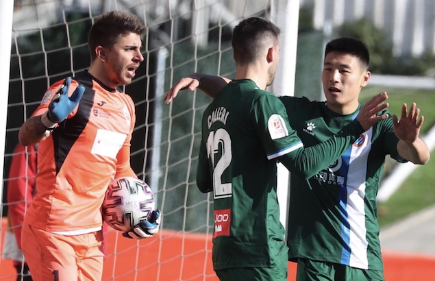 国王杯:武磊首发德托马斯破门,西班牙人2-0西乙队