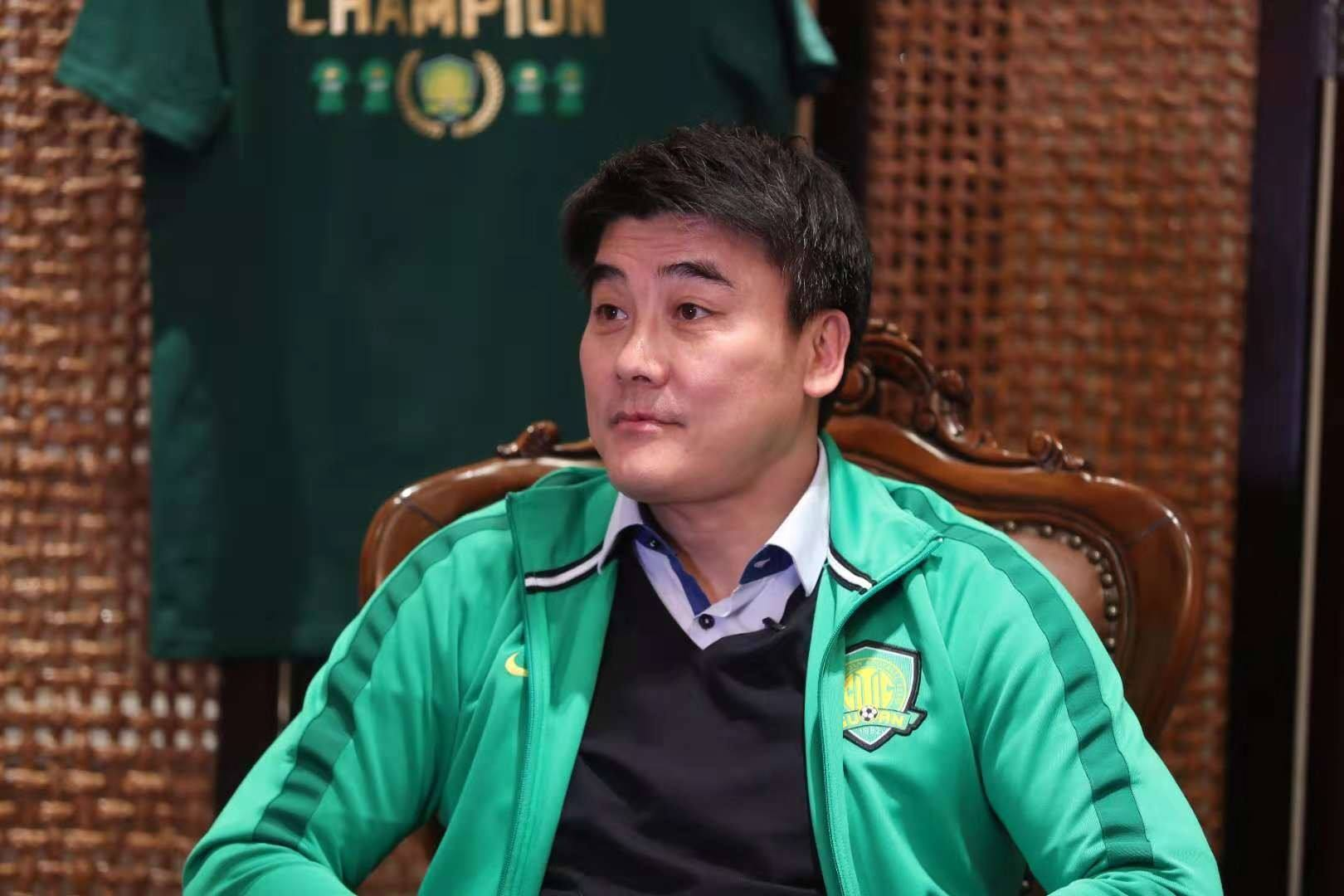 媒体人:国安总经理李明表示,不会放走任何重要球员