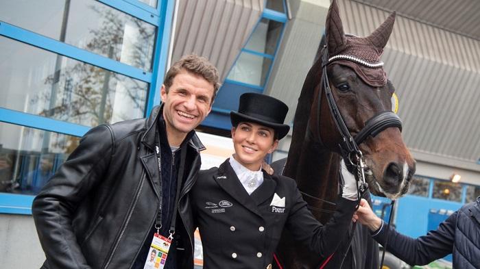 夫妻档?穆勒和妻子丽莎有望同时出战东京奥运会