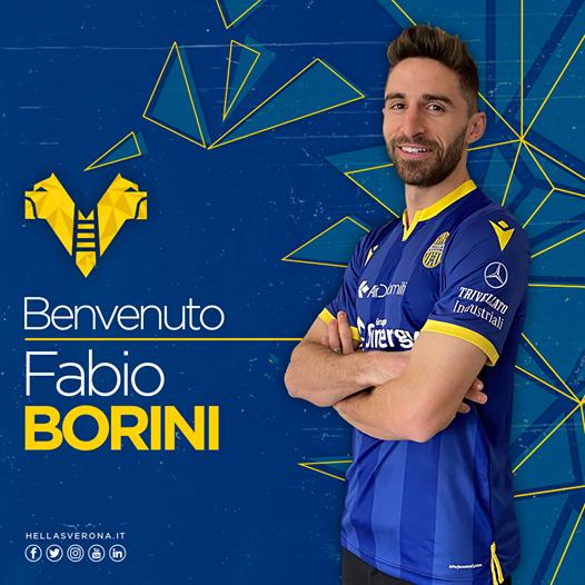 官方:AC米兰前锋博里尼加盟维罗纳