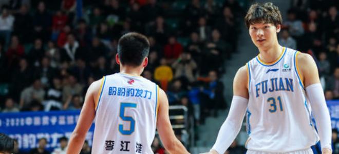 福建男篮赛前发布海报,欲完成对阵八一四连胜过新年