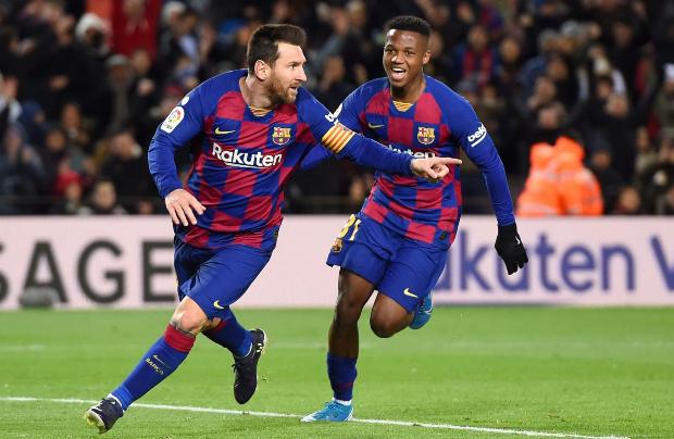 梅西破门制胜G-桑切斯染红,巴塞罗那1-0格拉纳达