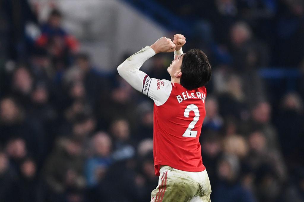 GIF:托雷拉助攻贝莱林低射破门,阿森纳闪电扳平比分