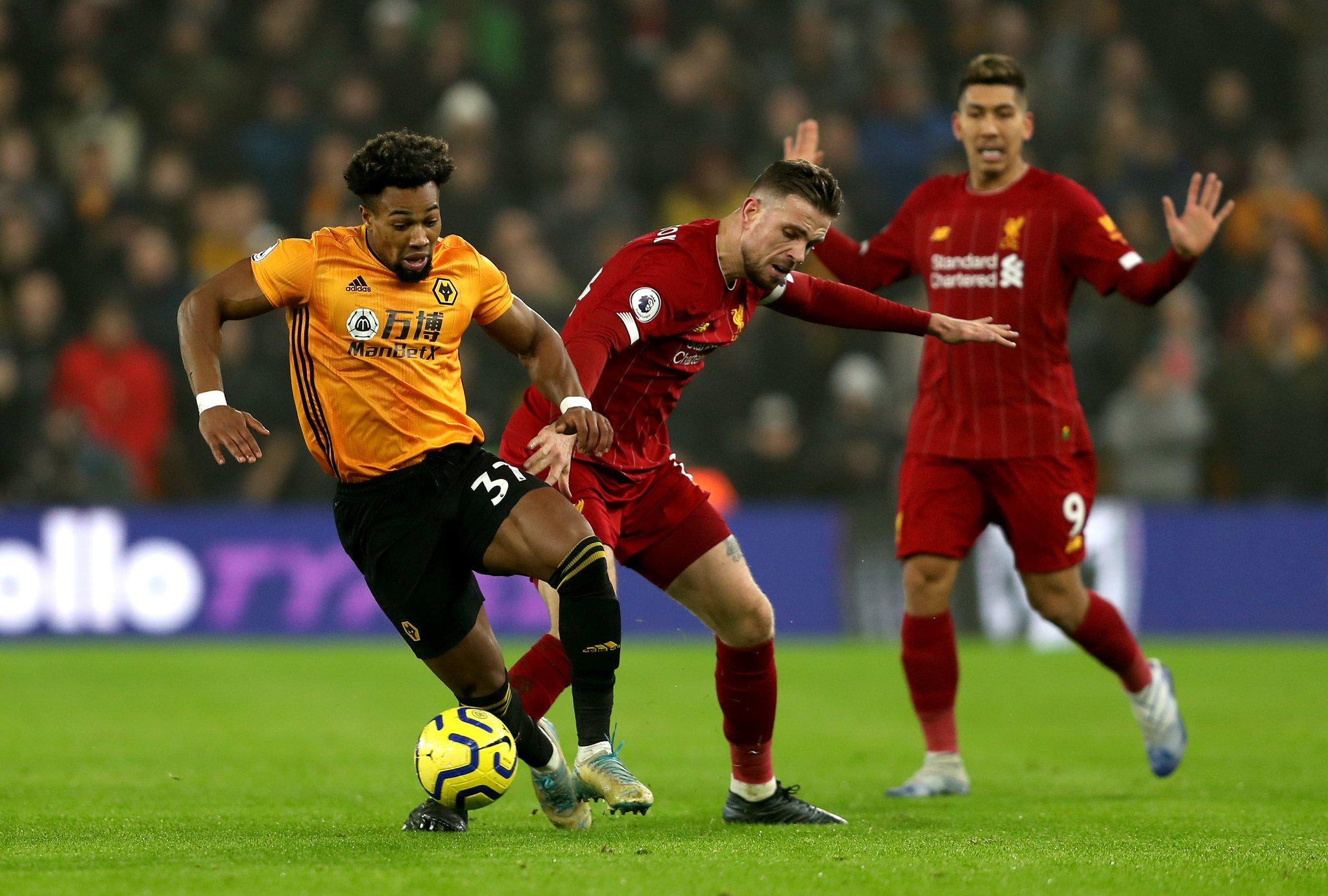 利物浦vs狼队赛后评分:亨德森8.2分全场最高
