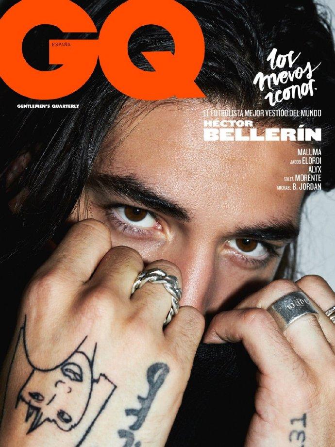 引领时尚的潮流!贝莱林登上GQ杂志封面