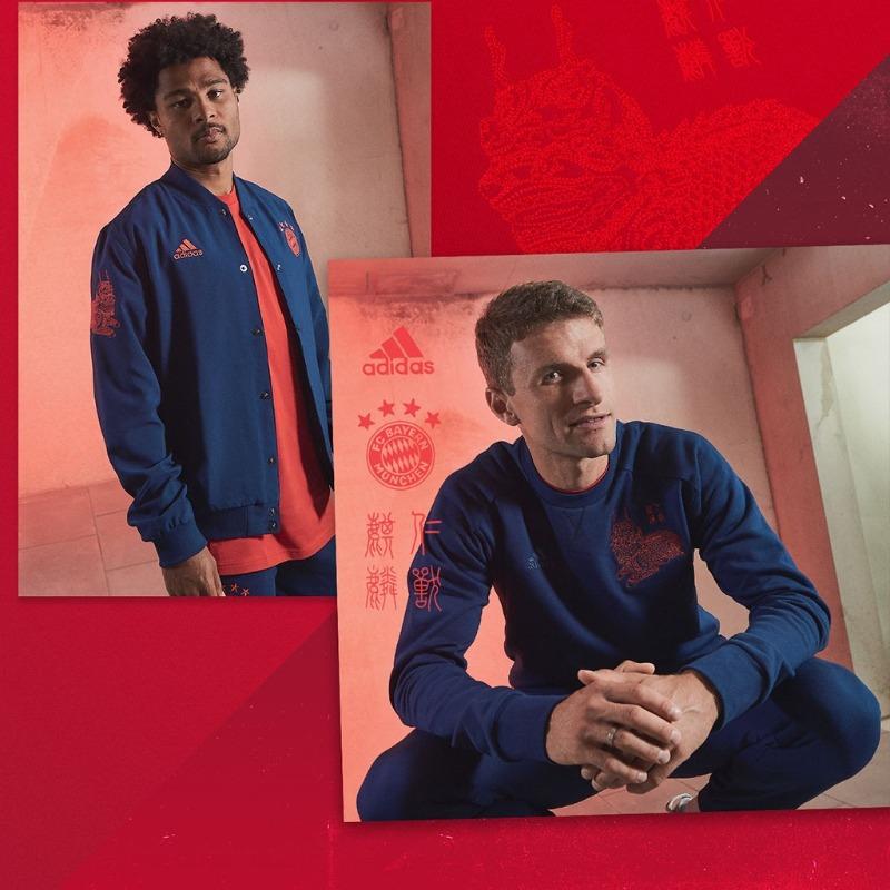 可还行?拜仁推出春节特别款夹克,售价140美金