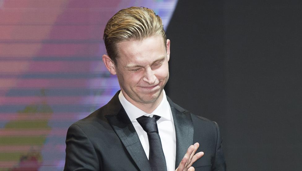 德容:最好版本的我就快来了,巴萨有实力赢得欧冠