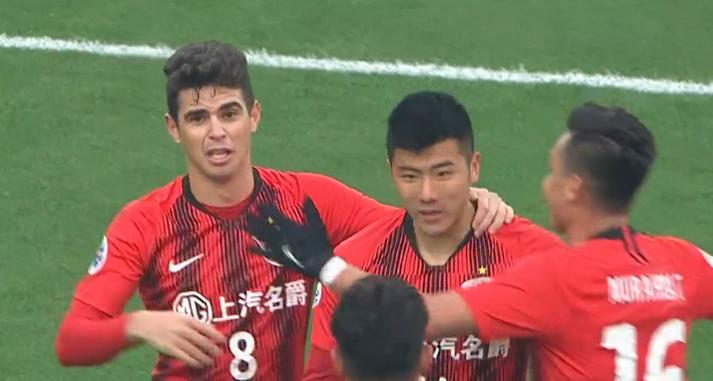 GIF:奇兵!李圣龙替补登场破门,上港1-0武里南联