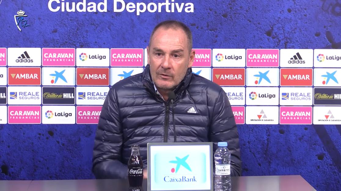 萨拉戈萨主帅:迎战皇马我们会继续轮换,联赛更重要