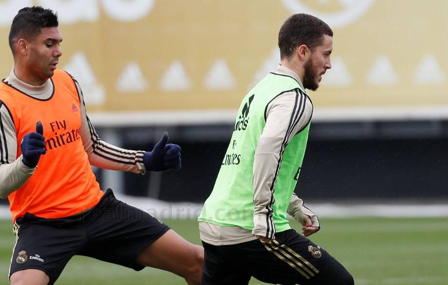 阿扎尔完全恢复合练,周末马德里德比有望复出
