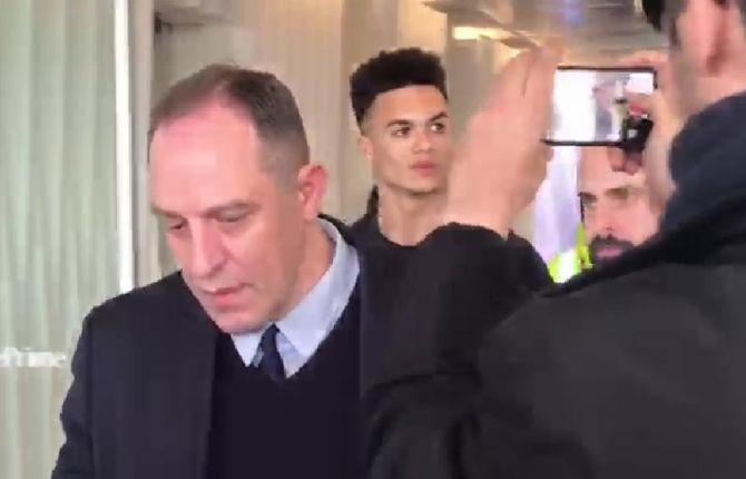 迪马济奥:安东尼-罗宾逊抵达米兰,即将接受体检