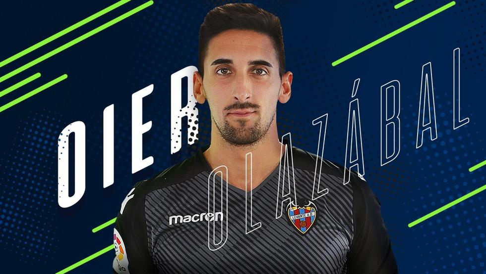 RAC1:西班牙人签下莱万特门将奥耶尔,球员今天体检