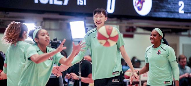 蔡崇信:不满前主帅给韩旭的上场时间大发快三官网,新季她会有更多机会