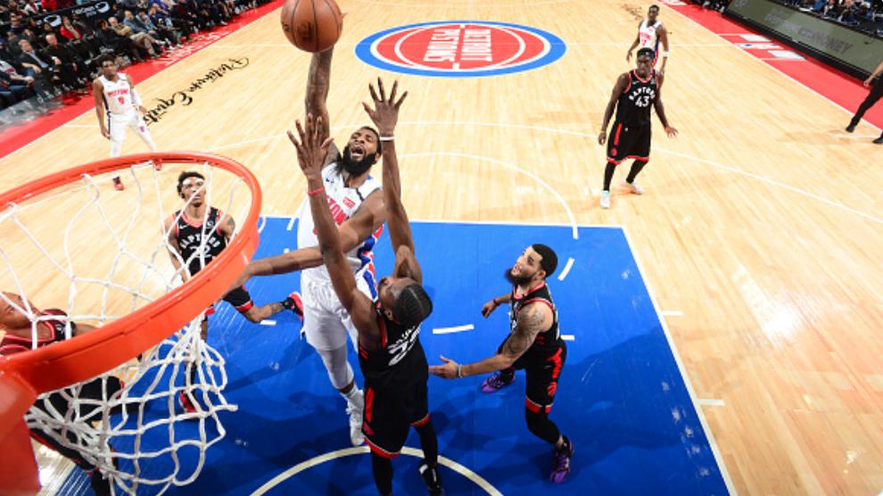 德拉蒙德生涯迄今41次双20,排名NBA合并以来第四位