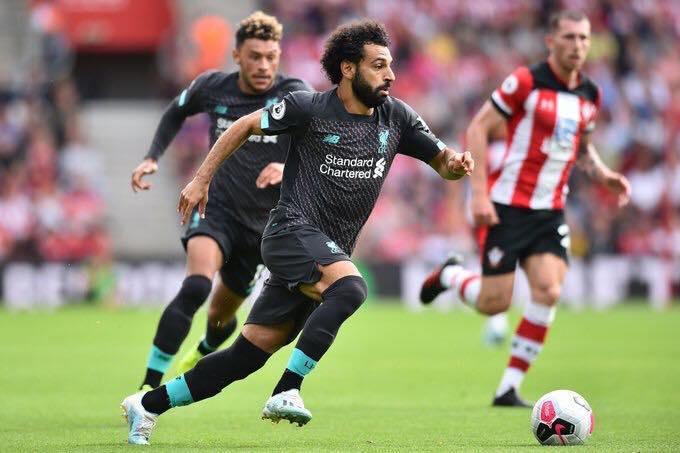 红军来了!利物浦过去5次英超对阵圣徒全胜,萨拉赫造6球