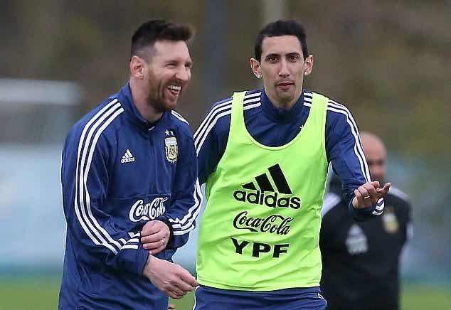 迪马利亚:C罗是怪物内马尔把足球当乐趣,梅西是最棒的