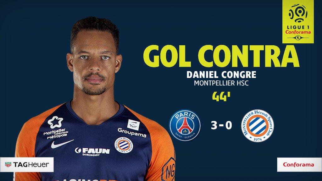 GIF:蒙彼利埃后卫踢墙式配合,打入1粒乌龙球,巴黎3-0