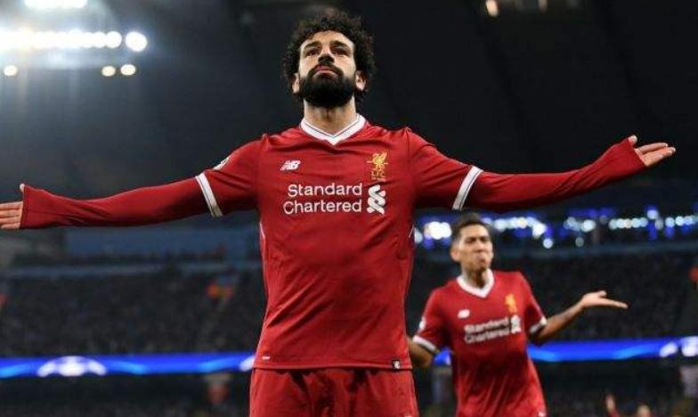 GIF:菲尔米诺送助攻萨拉赫梅开二度,利物浦4球领先