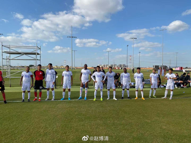 热身赛:穆里奇莫雷洛破门,永昌4-0阿联酋当地球队