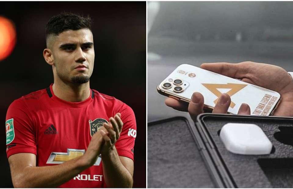 佩雷拉手机印有tiki-taka,球迷吐槽:你早点把球传走就行
