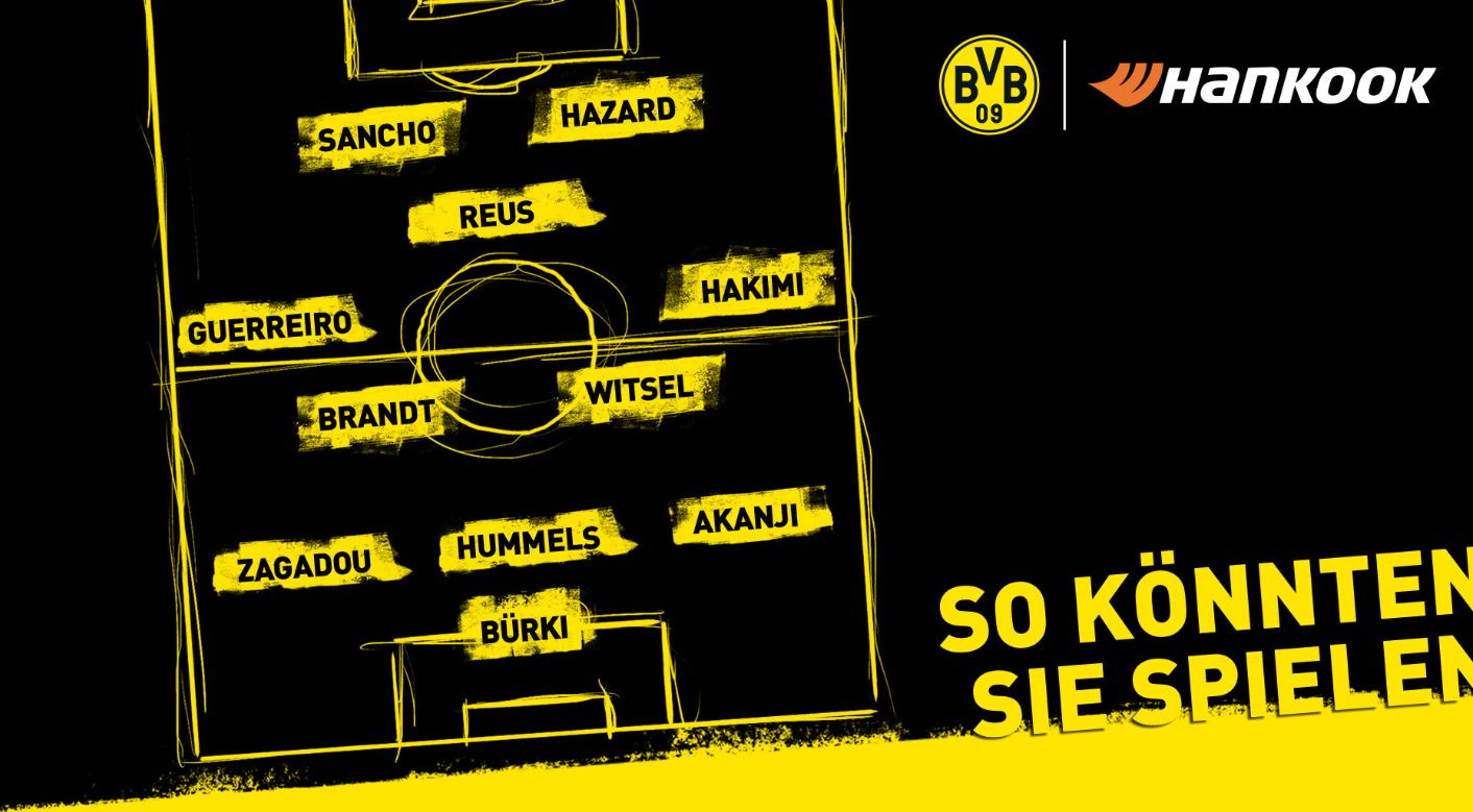 到底谁首发?多特官推预测德国杯首发,并向球迷征求意见