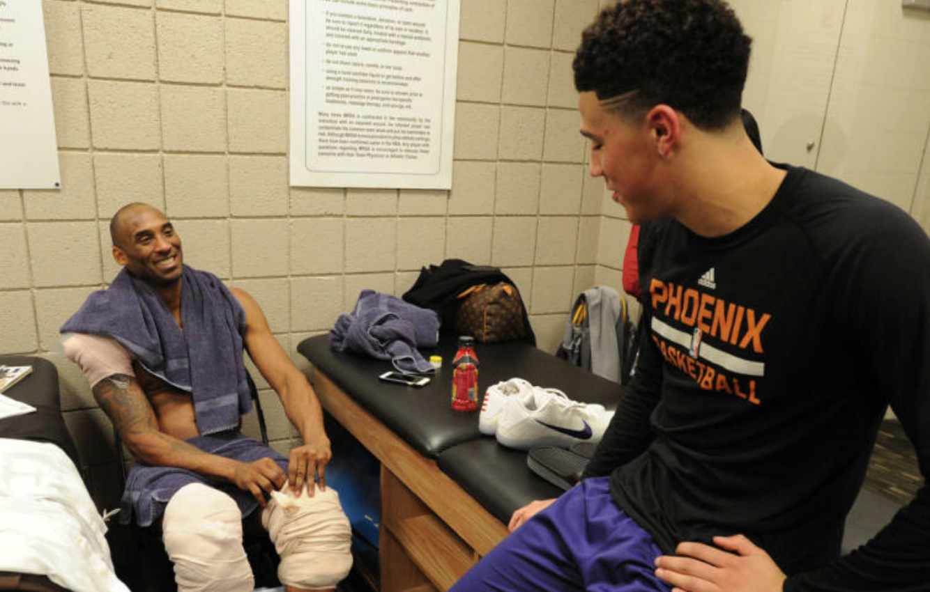 布克谈科比:他改变了我的生活,不仅仅是在球场上
