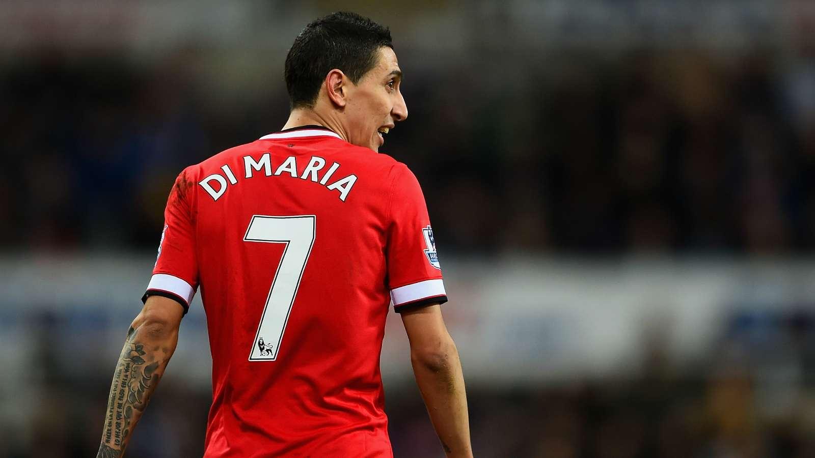 迪马利亚:我喜欢穿11号,但曼联给我7号,我没得选